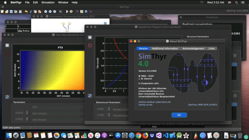 SimThyr for Mac - review, screenshots
