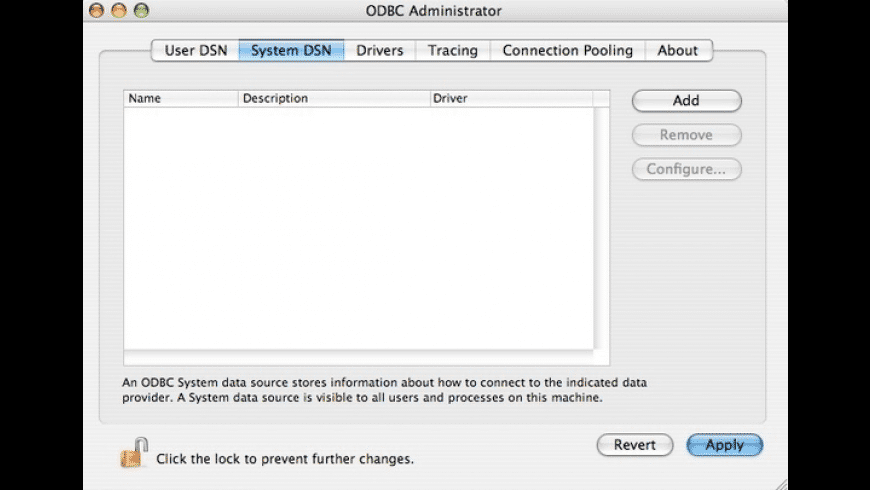 ODBC Query Tool & ODBCKit for Mac - review, screenshots