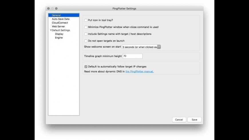 PingPlotter for Mac - review, screenshots