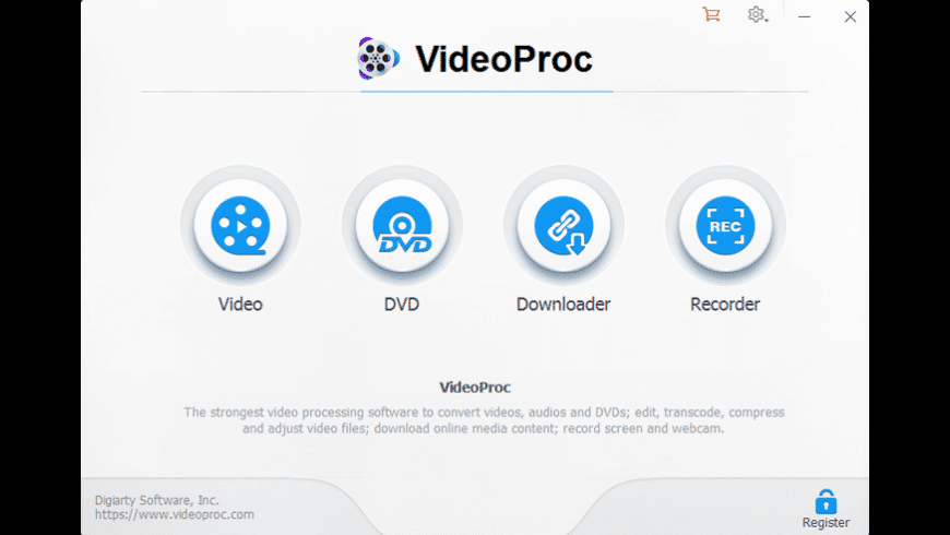 VideoProc for Mac - review, screenshots