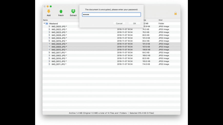 eZip for Mac - review, screenshots