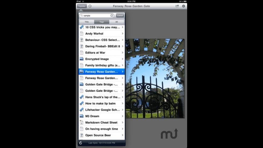 Yojimbo for iPad for Mac - review, screenshots