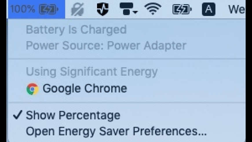 Batteries for Mac - review, screenshots
