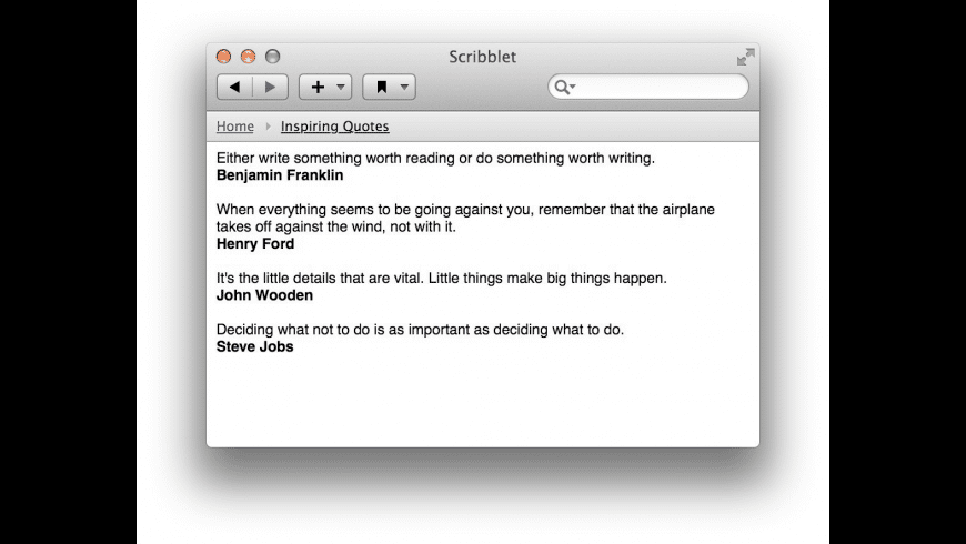 Scribblet for Mac - review, screenshots