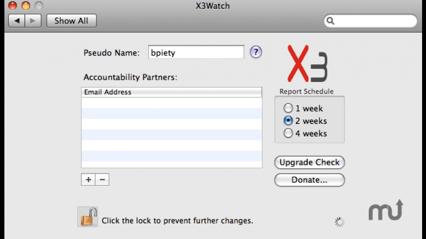 X3Watch for Mac - review, screenshots