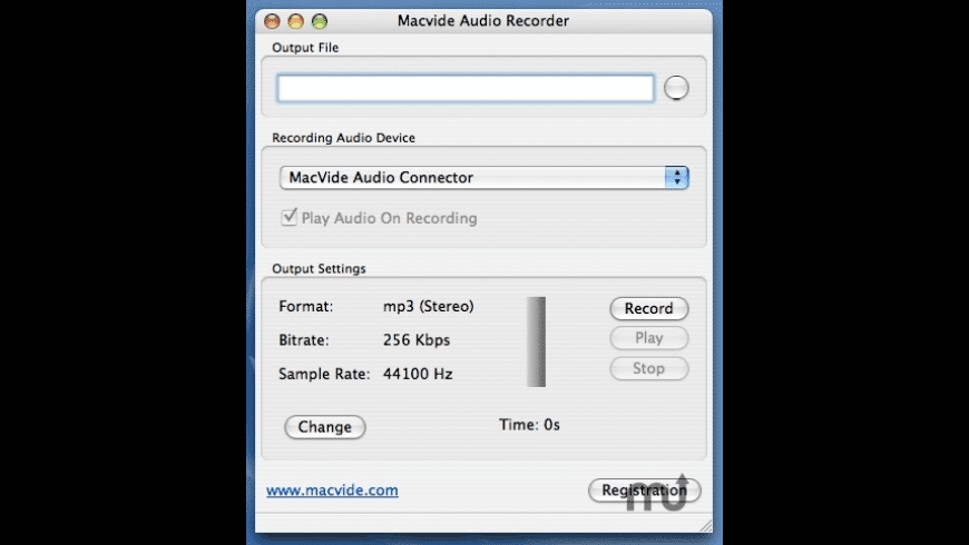 Audio Recorder for Mac - review, screenshots