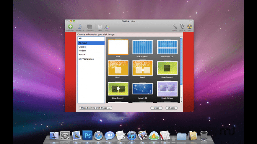 DMG Architect for Mac - review, screenshots