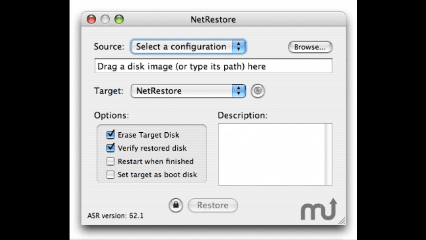 NetRestore for Mac - review, screenshots