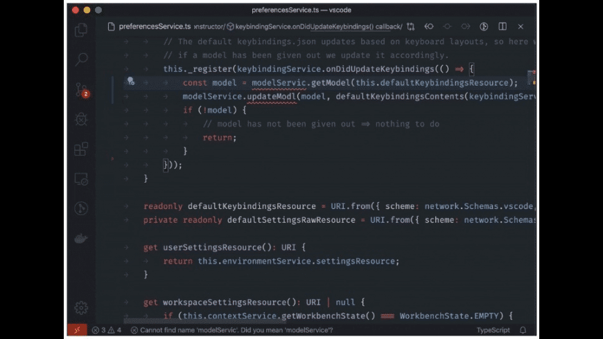 Visual Studio Code for Mac - review, screenshots