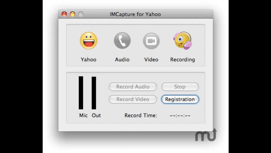 IMCapture for Yahoo Messenger for Mac - review, screenshots