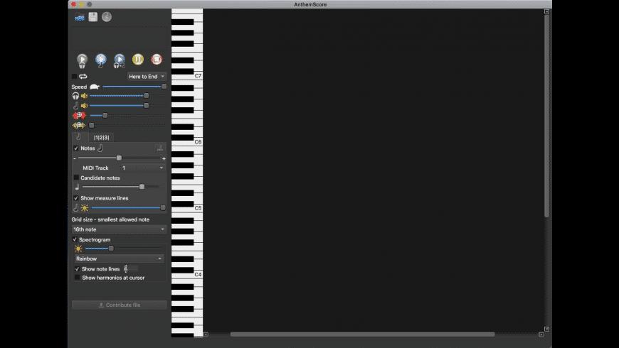 AnthemScore for Mac - review, screenshots