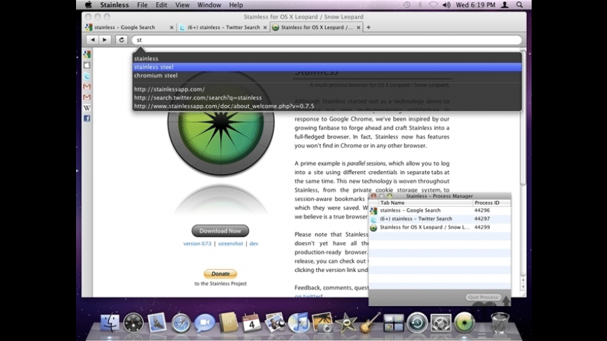 Stainless for Mac - review, screenshots