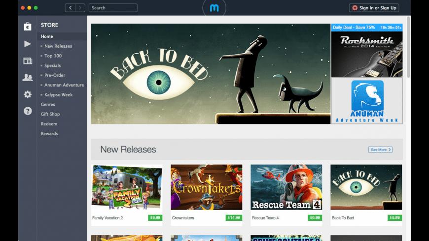 MacGameStore for Mac - review, screenshots