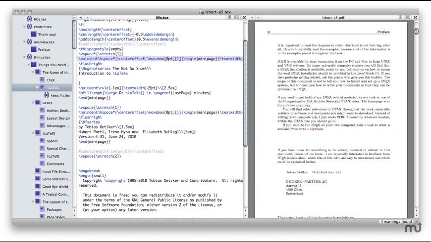 Scribo for Mac - review, screenshots