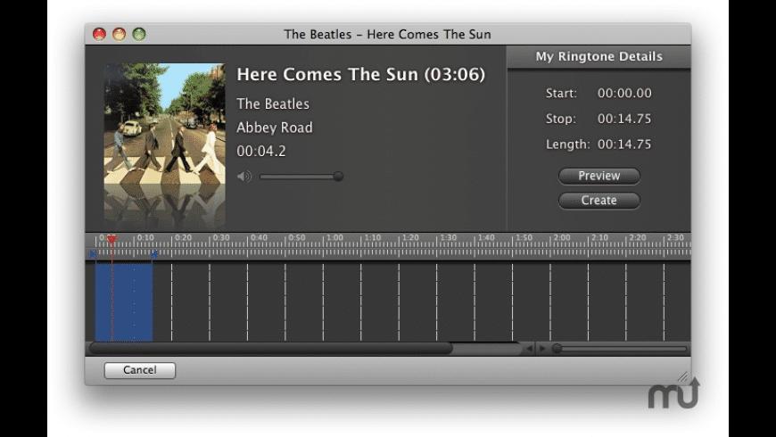 iRingtones for Mac - review, screenshots