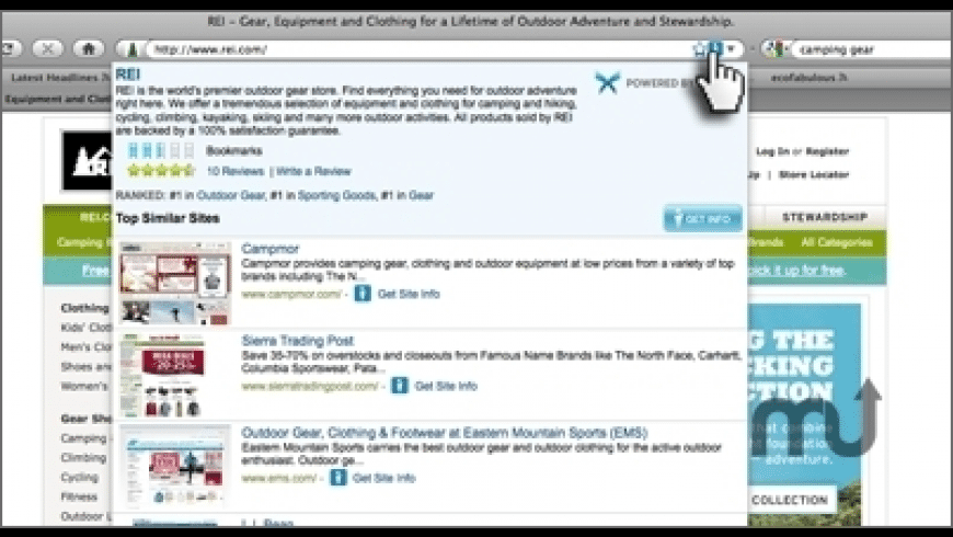 Xmarks for Safari for Mac - review, screenshots