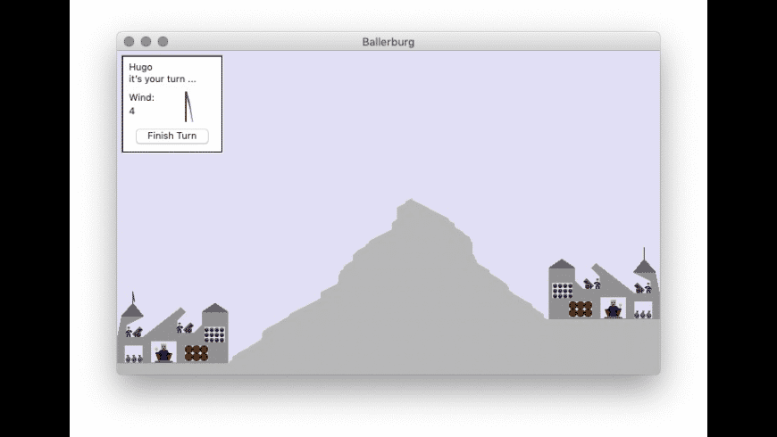 Ballerburg for Mac - review, screenshots