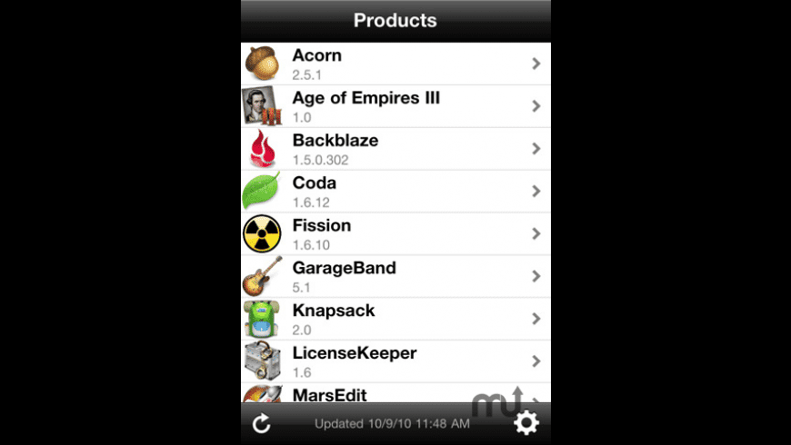 LicenseKeeper for Mac - review, screenshots