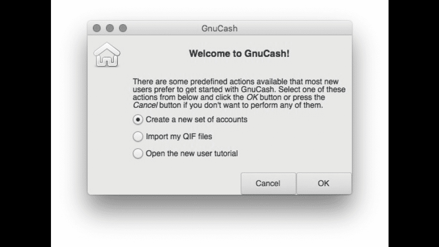 Gnucash for Mac - review, screenshots
