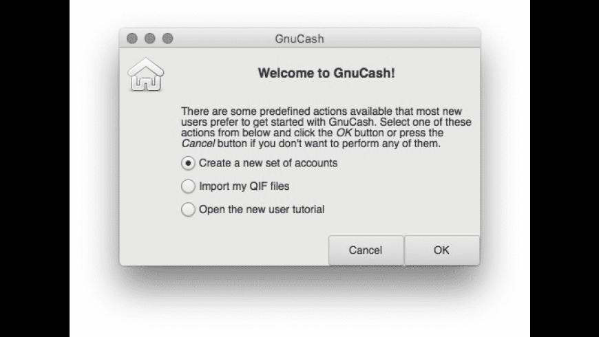 Gnucash for Mac - review, screenshots