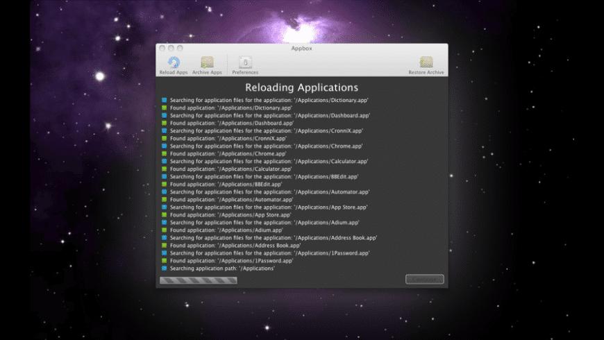 Appbox for Mac - review, screenshots