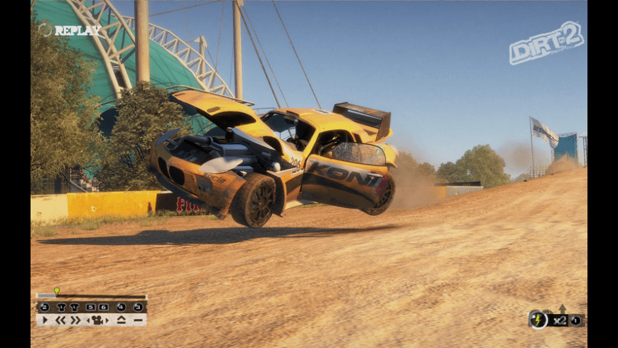 Colin McRae: DiRT 2 for Mac - review, screenshots
