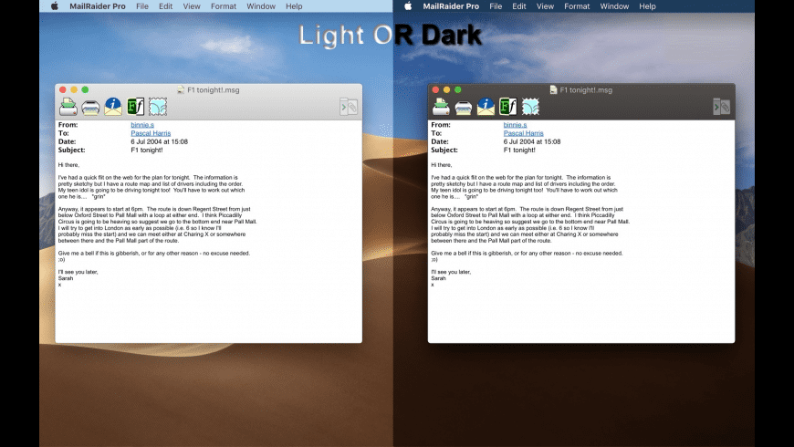 MailRaider Pro for Mac - review, screenshots
