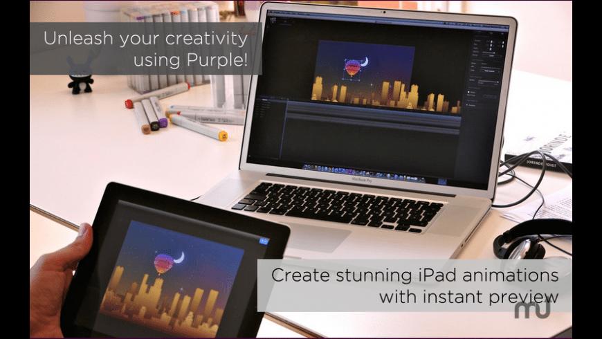 Purple for Mac - review, screenshots