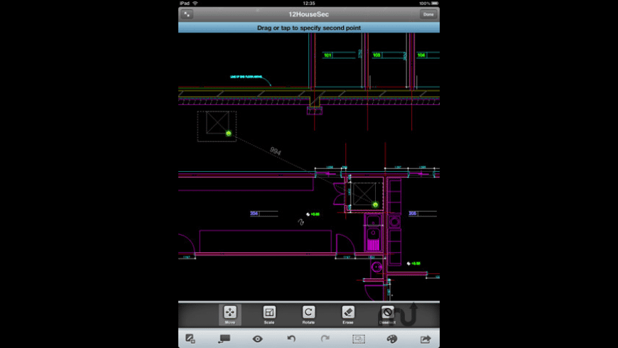 AutoCAD WS for Mac - review, screenshots