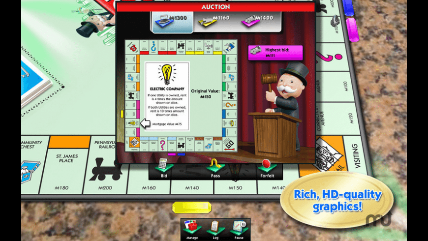 MONOPOLY for Mac - review, screenshots
