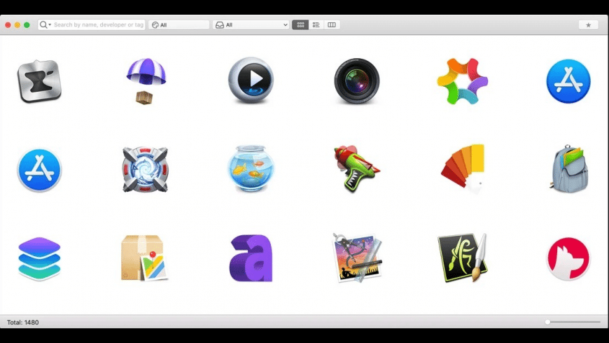 IconBook for Mac - review, screenshots