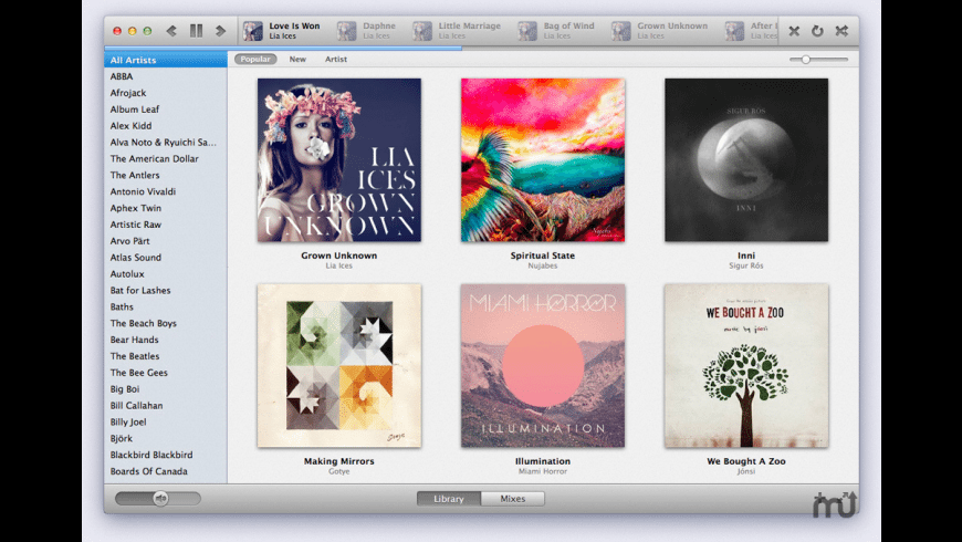 Sonora for Mac - review, screenshots