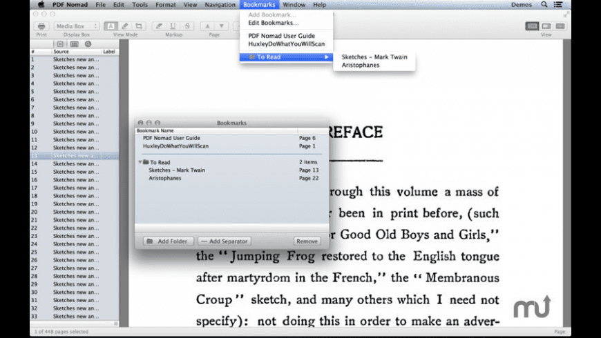 PDF Nomad for Mac - review, screenshots