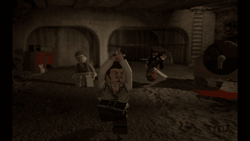 LEGO Pirates of the Caribbean for Mac - review, screenshots