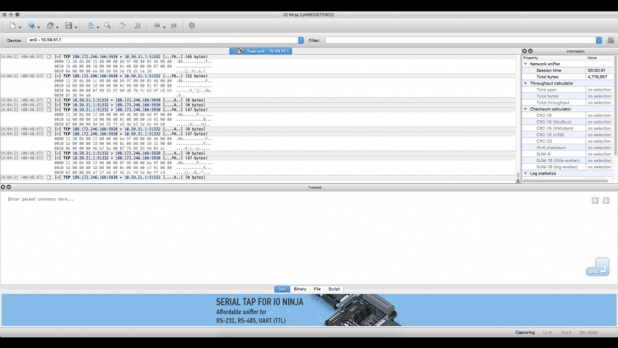 IO Ninja for Mac - review, screenshots