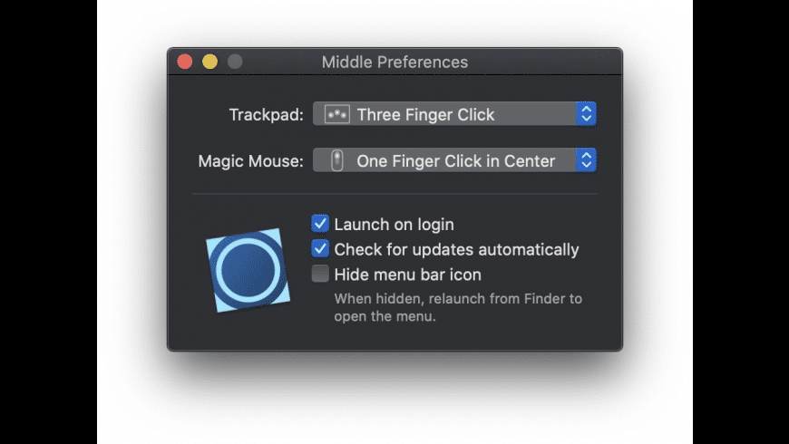 Middle for Mac - review, screenshots