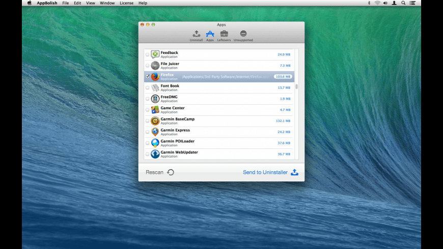 AppBolish for Mac - review, screenshots