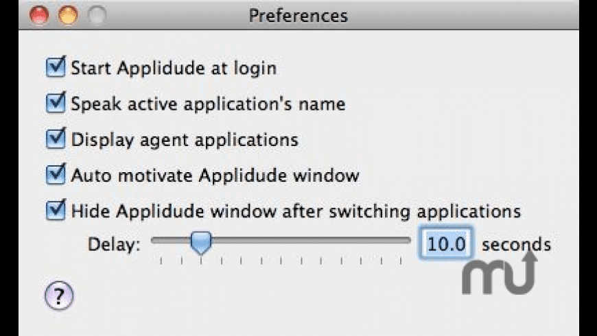 Applidude for Mac - review, screenshots