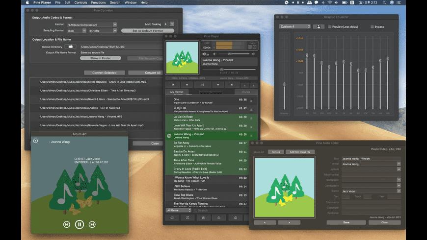 Pine Player for Mac - review, screenshots
