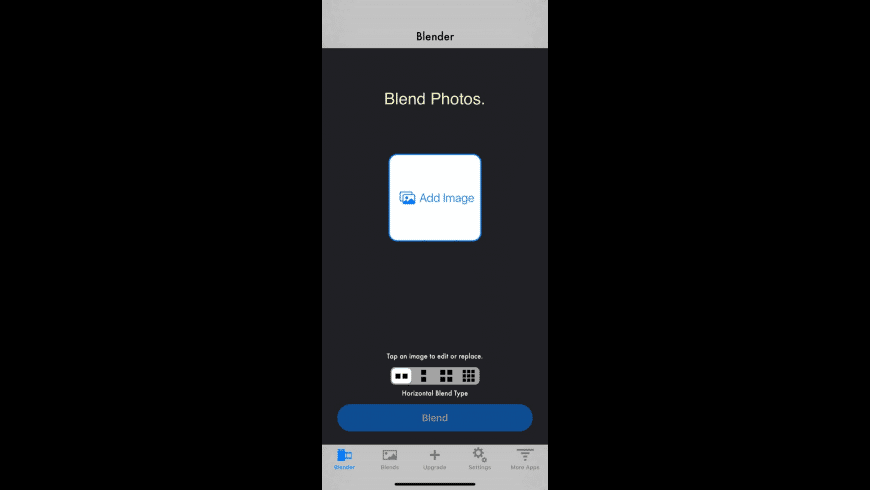 Photo Blender for Mac - review, screenshots