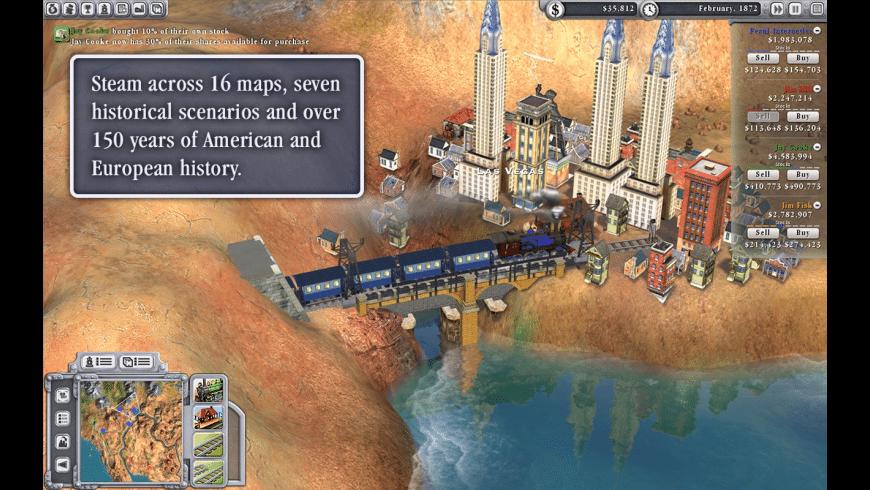 Sid Meier's Railroads! for Mac - review, screenshots