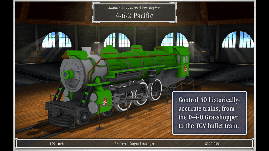 Sid Meier's Railroads! for Mac - review, screenshots
