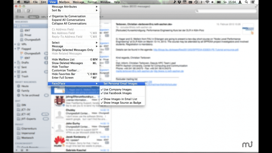 Face2Face for Mac - review, screenshots