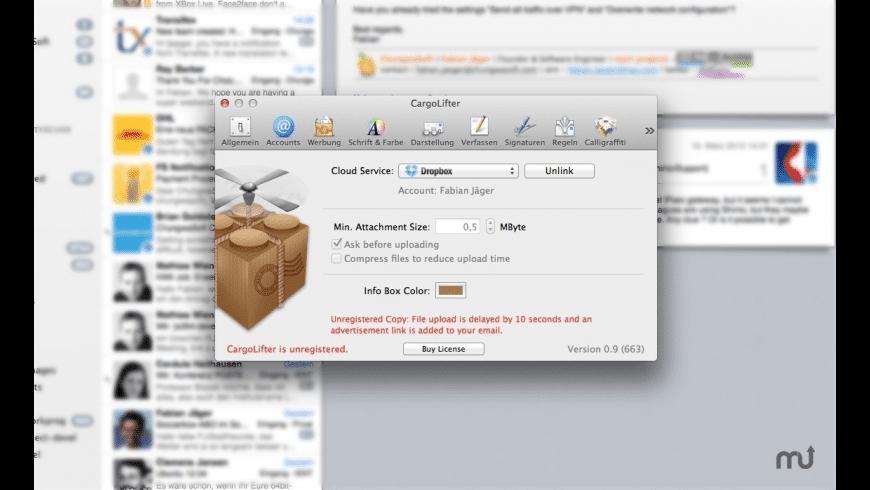 CargoLifter for Mac - review, screenshots