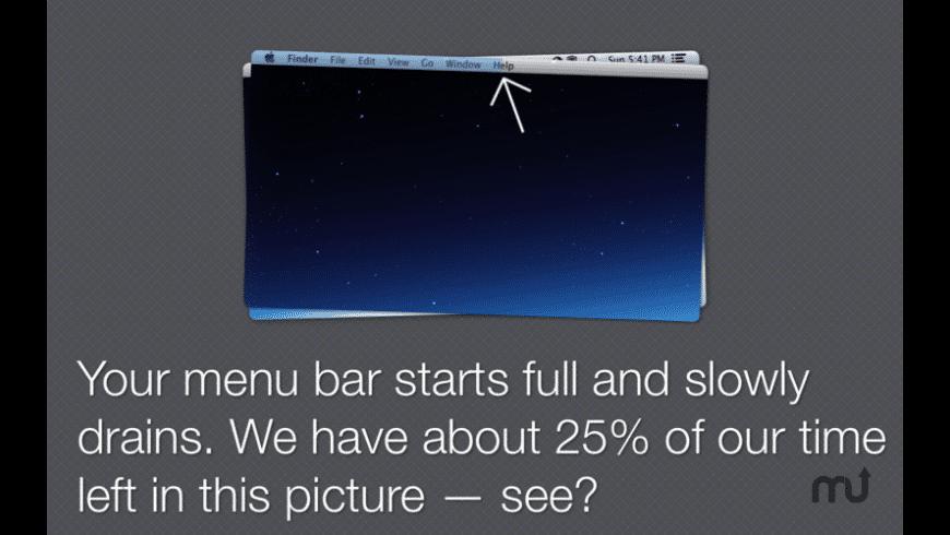 Timebar for Mac - review, screenshots