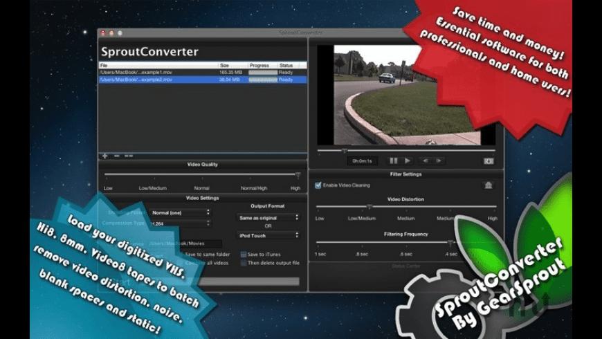 SproutConverter for Mac - review, screenshots