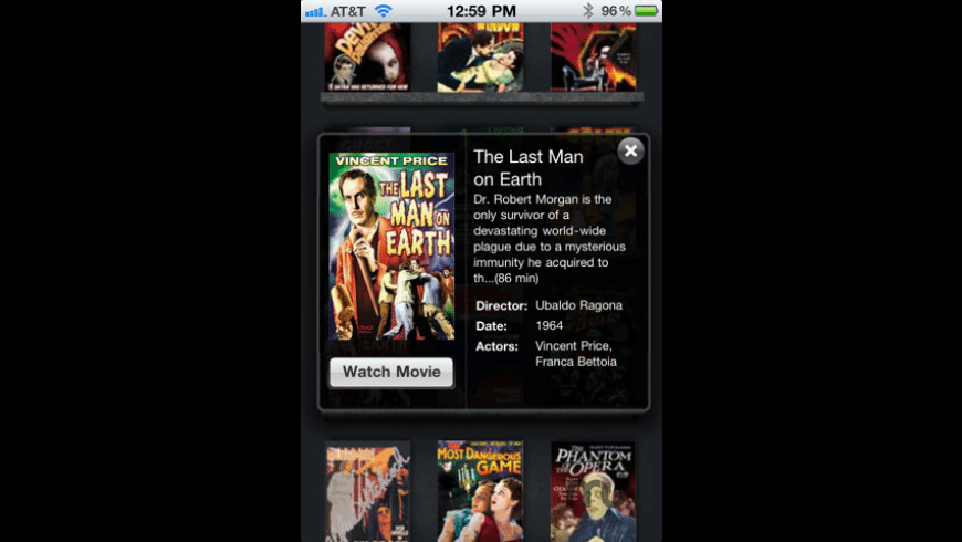 Halloween Movie Vault for Mac - review, screenshots