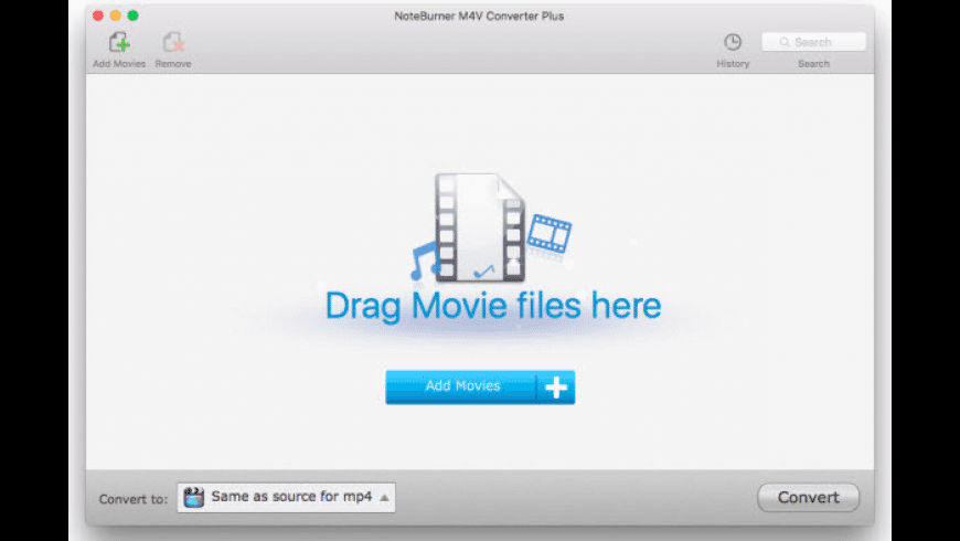 NoteBurner M4V Converter Plus for Mac - review, screenshots