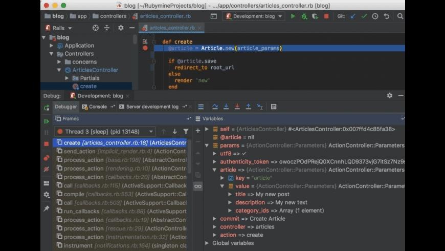 RubyMine for Mac - review, screenshots