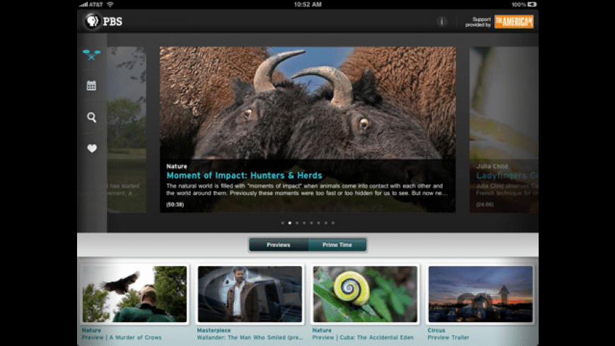 PBS for iPad for Mac - review, screenshots
